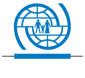 Logo Organisation internationale pour les migrations